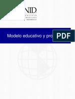 Modelo educativo y prospectiva