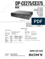 Sevice Manual Sony-CDP-CE275