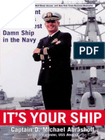 Michael Abrashoff - It's Your Ship_ Management Techniques from the Best Damn Ship in the Navy  -Business Plus (2002)