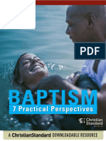 Baptism-Pratcical Perspectives