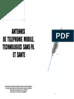 Antennes de technologie mobile, WIFI, & Santé.pdf