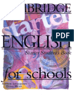 Cambridge - English for Schools - Starter Student's Book