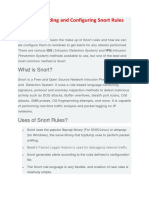 snort config and rules.docx