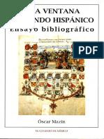 23805. Una ventana al mundo hispánico ensayo … - Mazín