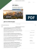 Civilización Griega_ política, religión, arte y características