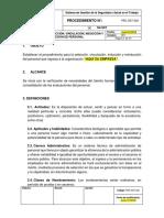 PRC-SST-029 Procedimiento Selección, Vinculación, Inducción, Reinducción y Evaluación de Personal.docx