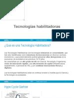 Tecnologías habilitadoras  1