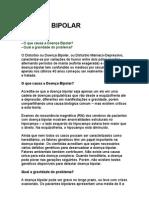 Doença bipolar - saúde - prevenção - curas naturais - homeopatia - exercícios