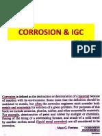 P CORROSION & IGC