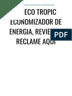 → ALERTA! Eco Tropic Funciona? [NÃO Compre Sem ANTES Ler ISTO, Saiba a VERDADE]