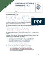 Ficha Formativa 3 _ Datação Relativa e Fósseis _ Correção
