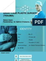 Short Case Trauma BP-Ms. Hanita. 67 yo. Fracture Maxillofacial Le Fort I-II + Fraktur Blow Out Sinistra. dr. Saktrio D Subarno, Sp. BP-RE.pptx