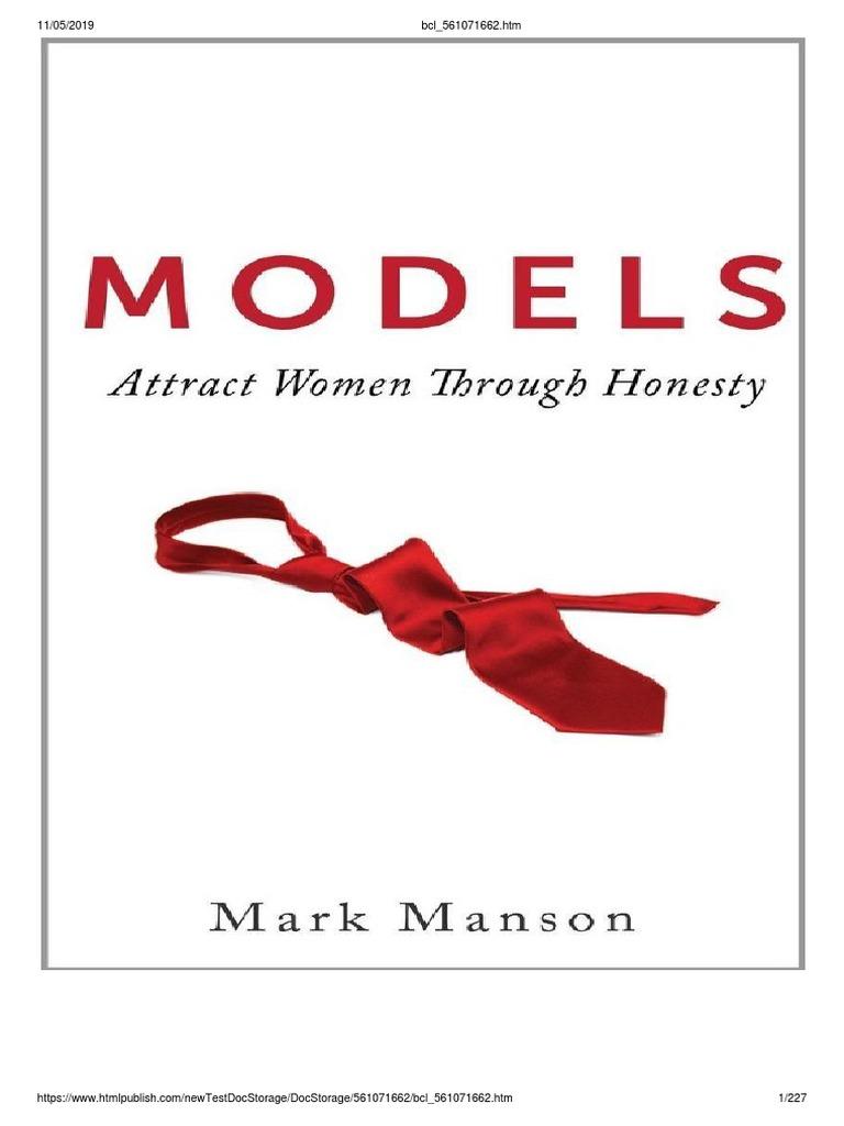 Mark Manson - Models (traduzido) (1).pdf   Relação Sexual