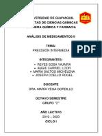 PRECISION INTERMEDIA GRUPO 2 SUBGRUPO 8