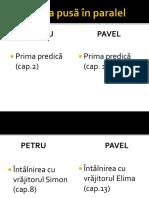 Sljirea pusă în paralel Petru și pavel.pptx