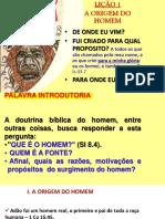 LIÇÃO A ORIGEM DO HOMEM.pptx
