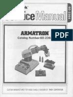Armatron Factory Repair Manual Radio Shack