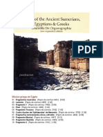 Music of the Ancient Sumerians, Egyptians and Greeks.docx