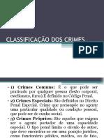 Cópia de CLASSIFICAÇÃO DOS CRIMES.pptx
