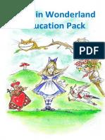 Alice in Wonderland Education Pack