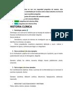 Cuestionario Semiologia