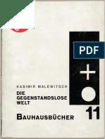 11. Kasimir Malewitsch - Die Gegenstandslose Welt Small Size