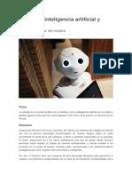 Articulo inteligencia artificial - Derecho.pdf