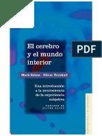 El Cerebro y El Mundo Interior PDF