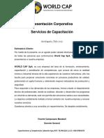 Presentación Corporativa World Cap
