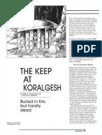 The keep at koralgesh Dungeon Magazine - 002