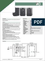 T-6700 Series IP Network Active Speakers (Offline Timing Play)T-6707L