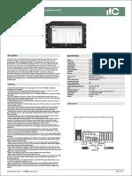 T-7800 Series IP Intercom & PA System Server T-7800A