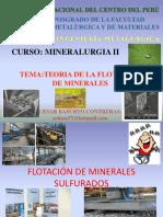 TEORIA DE LA FLOTACION DE MINERALES SULFURADOS.ppt