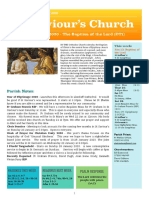 st saviours newsletter - 12 jan 2020 - baptism of the lord