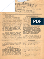 752nd Railway Operating Battalion Newsletter No Compree! 23 June 1945