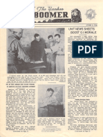 """Yankee Boomer  Vol2 No1 October 5, 1944  """"Unit newsletters boost morale"""""""