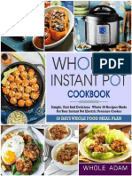 Whole 30 Instant Pot Cookbook_ - Whole Adam