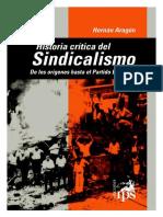Aragon Hernan - Historia Critica Del Sindicalismo