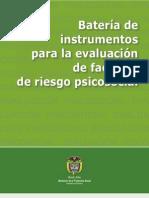 Bateria de Instrumentos Para La Evaluacion de Factores de Riesgo Psicosocial