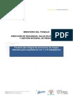 FORMATO DE PLAN INTEGRAL DE PREVENCIÓN DE RIESGOS LABORALES.docx