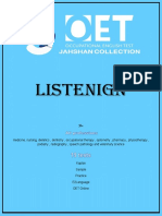 Listening Jahshan OET Collection