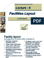 Lecture-6 8 Facilities Layout
