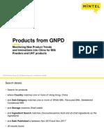 China Market new milk powder and UHT products.ppt