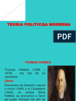 modulo II - POLITICA HOBBES - ROUSSEAU.ppt