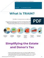 Package One - Simplifying Estate and Donor's Tax • #TaxReformNow