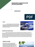 W16 AR 208 – WATER SUPPLY SANITATION unit 1