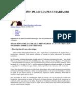 IMPUGNACIÓN DE MULTA PECUNIARIA SRI.docx
