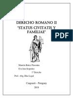 STATUS CIVITATIS derecho romano 1.docx