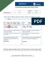 MIV-U7- Actividad 4. Nomenclatura de esteres, éteres, aminas y amidas