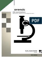 Forensic Lab Examination Trial Book by Kashali